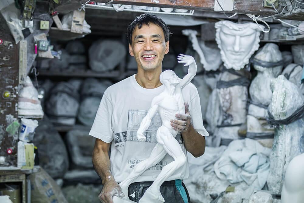 石膏像の制作・販売・卸売りのオンラインショップ